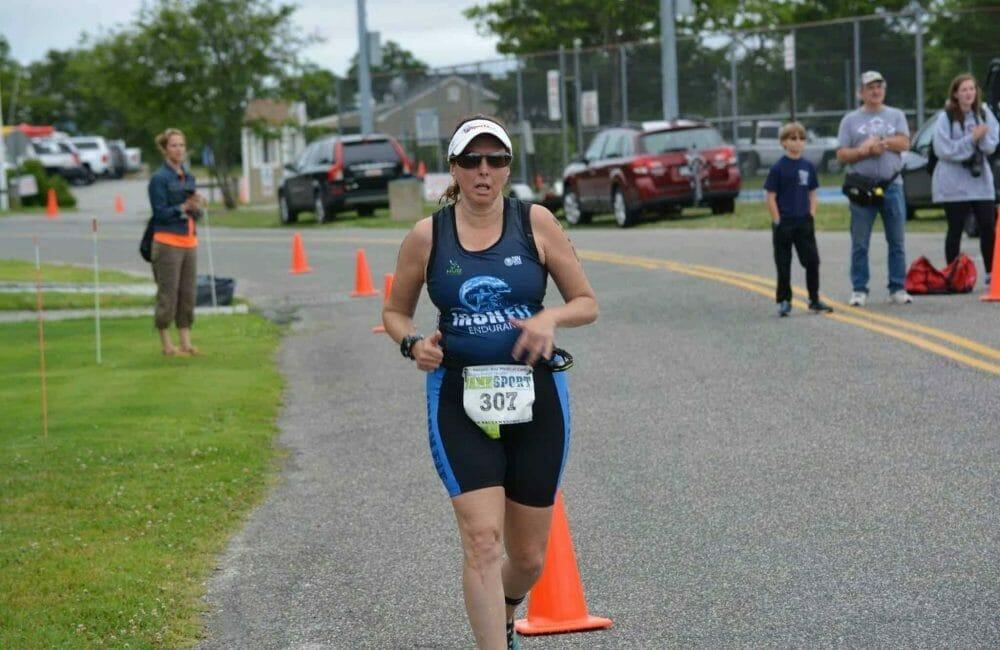 Hilary Topper running