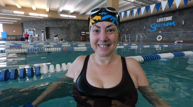 Hilary Topper at Lifetime Fitness