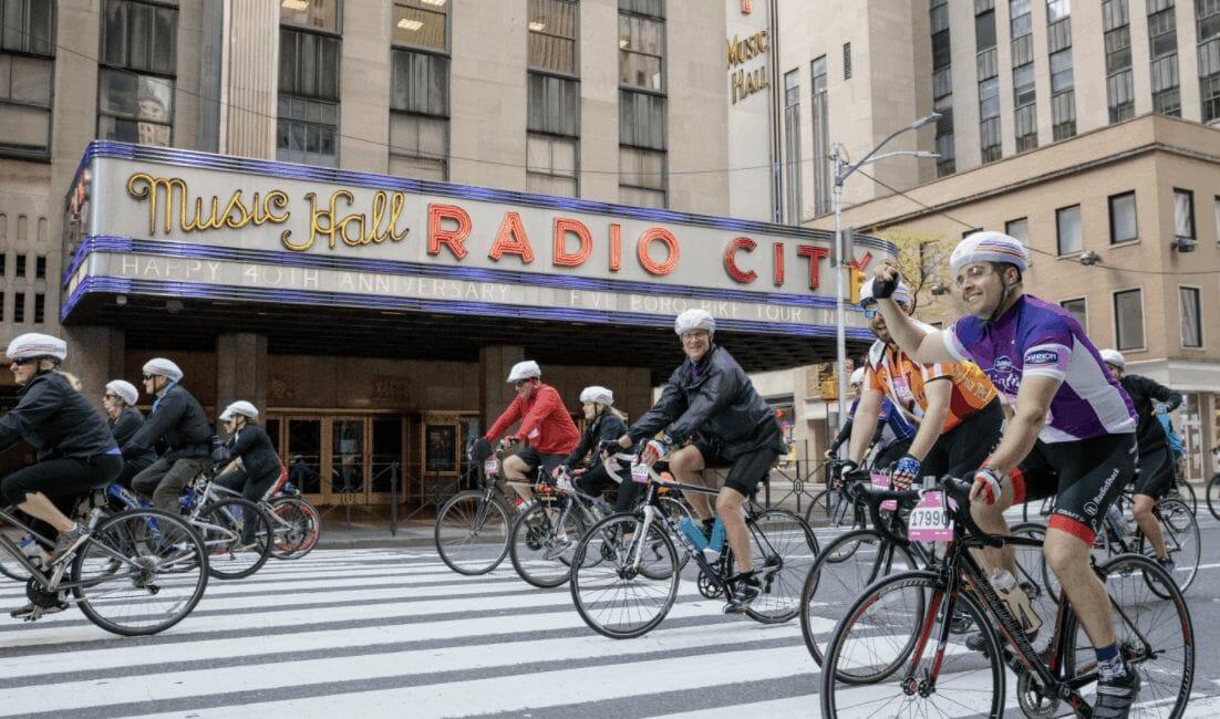 40 mile five boro bike tour